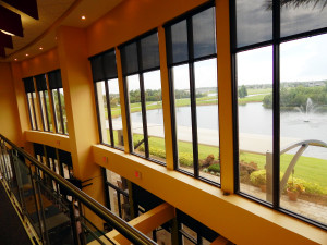 2nd FL view of golf course in upstairs bar at Kings Point South Club