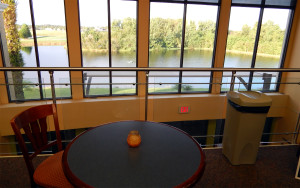 2nd floor breakfast bar at the Kings Point South Clubhouse, Sun City Center, Florida