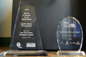 Awards for Emergency Squad of Sun City Center