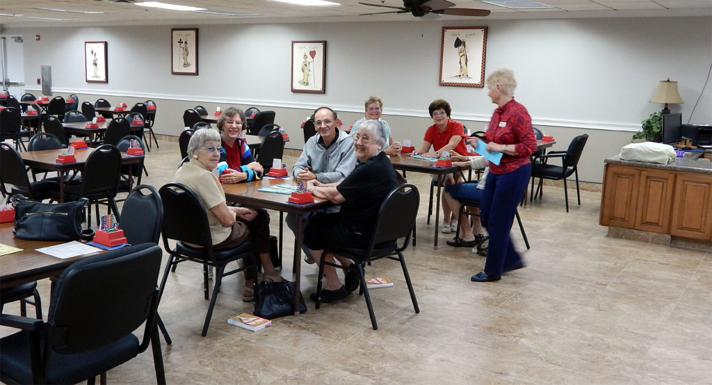 Members of DUPLICATE BRIDGE CLUB Association of Sun City Center at 957 North Course Lane