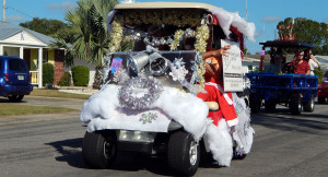 BUSINESS Category - 3rd Golf Coast Insurance Group (#804) in Sun City Center Golf Cart Parade 2013