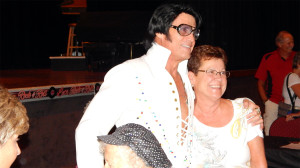 Bill Lindsay Elvis Presley at Food Truck Festival and Elvis Concert at the Borini Theater
