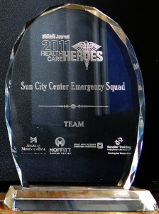 Business Journal 2011 Health Care Heroes awarded to Sun City Center Emergency Squad