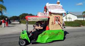 Business category – 1st Bay Services Locksmith (#807) Sun City Center Golf Cart Parade 2013