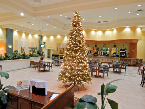 Christmas Tree at the Main Clubhouse in Kings Point, Sun City Center