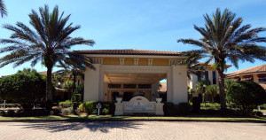 Club Renaissance front driveway in Sun City Center, FL