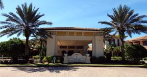 Club Renaissance front driveway in Sun City Center, FL