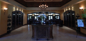 Club Renaissance inside the doors at the concierge station in Sun City Center, FL