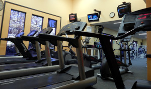FITNESS CENTER GYM at Kings Point South Clubhouse on Thanksgiving Day 2013 at 1 PM