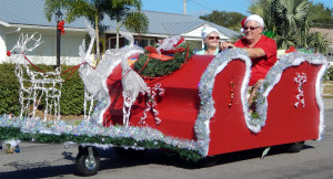 ASSOCIATION Category - 2nd GLOUCESTER in Sun City Center Golf Cart Parade 2013