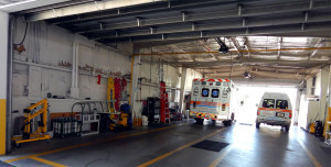 Garage in Sun City Center Emergency Squad building