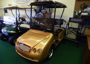Bentley E-Z-GO 2012 re-built custom golf cart in Sun City Center, FL