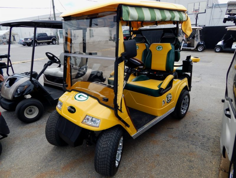 Green Bay Packers Starev 48v Ss Customized Golf Cart In