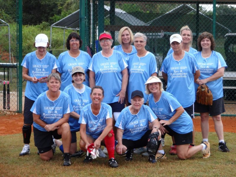 The Vintage Babes Softball Team of Sun City Center, Fl [photo submitted by team member]