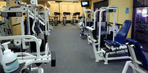 Gym and FITNESS CENTER at Kings Point South Clubhouse on Thanksgiving Day 2013 at 1 PM