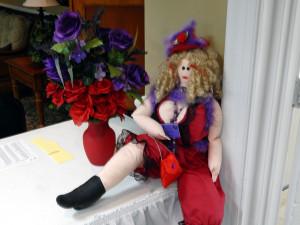 IMA TART, MASCOT of Purple Butterflies Club of Sun City Center