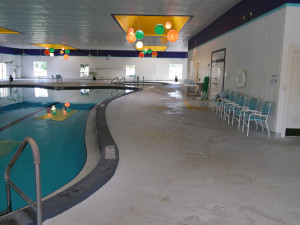 Main Clubhouse Indoor Pool in Kings Point, Sun City Center, FL