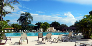 Main Clubhouse Pool in Kings Point Sun City Center, Florida