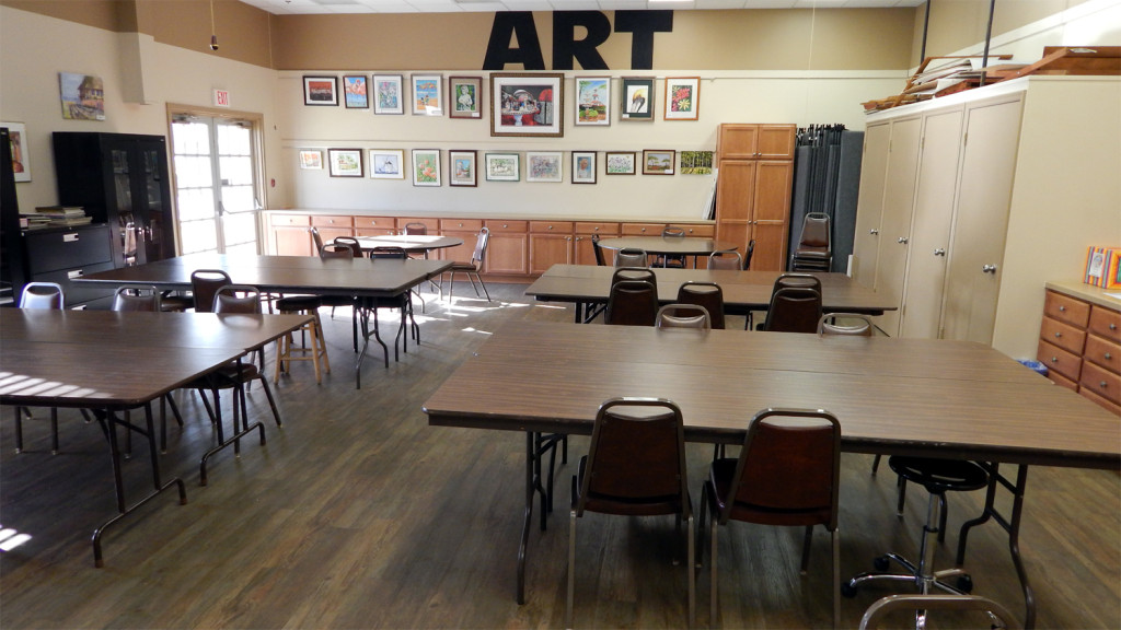 Kings Point ART ROOM at the Main Clubhouse