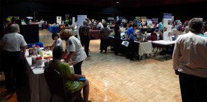 Kings Point Fall Expo 2013 in Borini Theatre, Sun City Center, FL