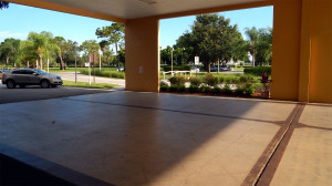 Kings Point Main Clubhouse Portico, Sun City Centter, FL