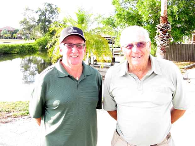 Hogans Golf Club of Sun City Center & Kings Point > Left to Right: Joe DeFelice and Dick Ihrke