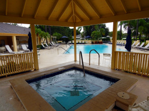 Lancaster III Small Heated Pool in Kings Point, Sun City Center, FL