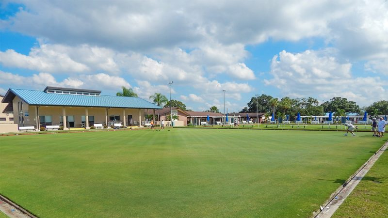 Lawn Bowling greens in Sun City Center