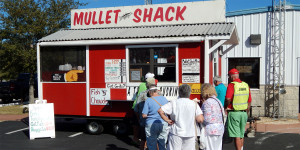 MULLET SHACK Food Truck at Sun City Center Golf Cart Parade 2013
