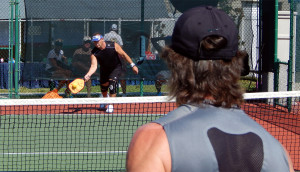 Mens Doubles 50 plus Pickleball Tournament Tampa Bay Senior Games 2013, Sun City Center, FL