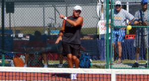 Men's Doubles Pickleball Tournament (ages 50-54) Tampa Bay Senior Games 2013, Sun City Center, FL [DAY TWO: Saturday, October 26, 2013]