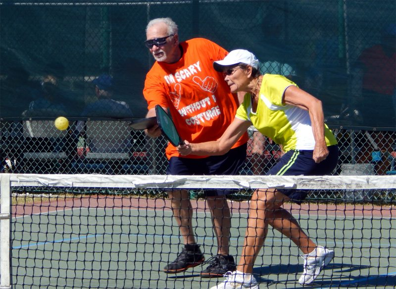 Mixed Doubles in Pickleball Tournament 2013 Tampa Bay Senior Games, Sun City Center