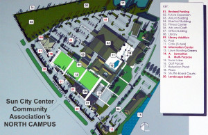 NORTH CAMPUS New 2014 Additions Layout for Sun City Center Community Association
