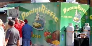 PANINI RIFFIC Food Truck at 2013 Golf Cart Parade in Sun City Center