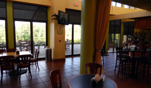 Palm Court Cafe before remodeling 2013 at Kings Point South Club, Sun City Center, FL