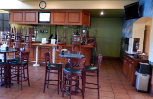 Palm Court Cafe before remodeling at Kings Point South Club, Sun City Center, FL