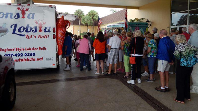 City Center Parking Food Carts