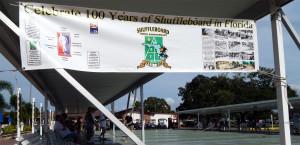 SUN CITY CENTER SHUFFLEBOARD CLUB celebrates 100 years of Shuffleboard