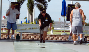 SUN CITY CENTER SHUFFLEBOARD CLUB playing at Community Associations Central Campus, N Pebble Beach Blvd