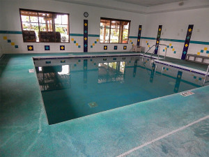 Small 4 Ft heated Pool at South Clubhouse in Kings Point, Sun City Center, FL