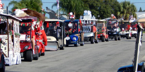 Sun City Center Holiday Golf Cart Parade 2013
