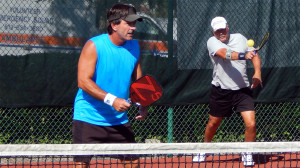 Tampa Bay Senior Games Pickleball Tournament 2013 SCC, FL