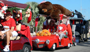 The 2013 Sun City Center Holiday Golf Cart Parade