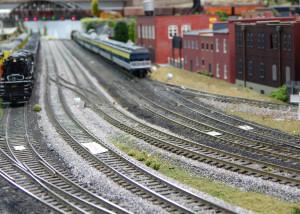 WIRELESS controls running trains at Sun CIty Center Model Railroad Club