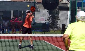 Womens Doubles Pickleball Tournament at Tampa Bay Senior Games 2013, Sun City Center