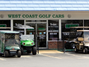 West Coast Golf Cars in Sun City Center, FL [staff photo]