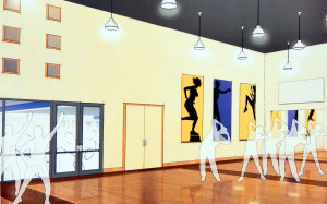 Aerobics Room (1st FL) 2020 Building Kings Point, Sun City Center, FL