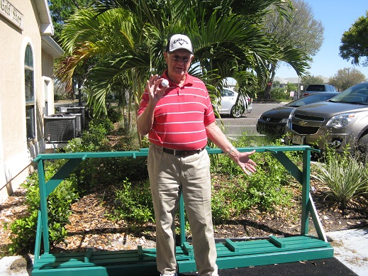 Bob Hull got a Hole In One on #3, 135 yard Par 4 | Hogans Golf Club of Sun City Center and Kings Point [submitted by Pam Jones]