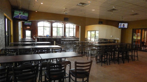 Inside of the new addition to the Palm Court Cafe 2014, Kings Point South Clubhouse, Sun City Center, FL