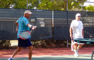 Kings Point Tennis Tournament 2014 Men's Al Landry and Earl Cagle